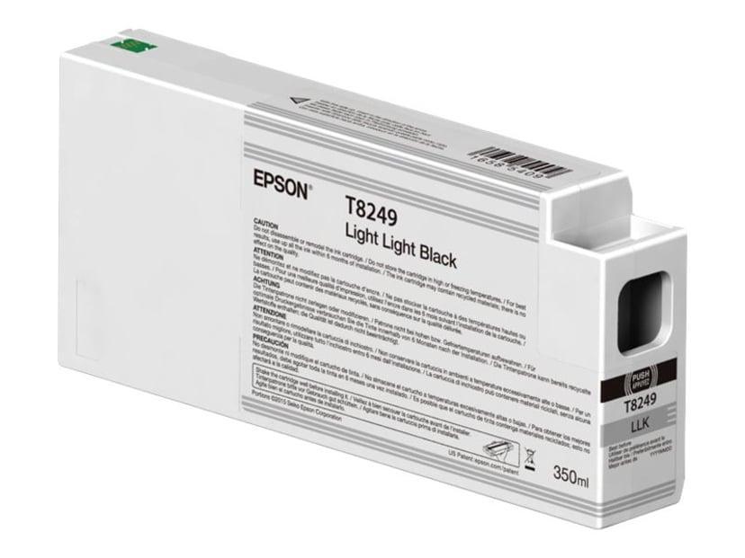Epson Bläck Ljus Light Svart 350ml - P6/7/8/9000