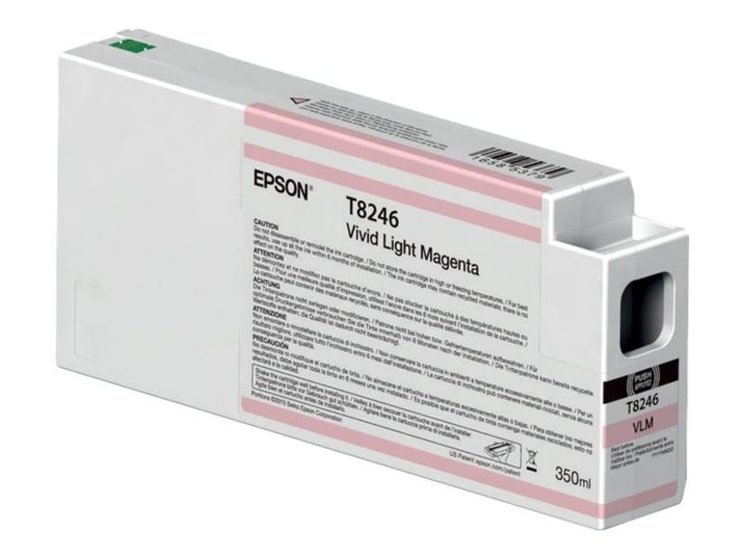 Epson Bläck Vivid Ljus Magenta 350ml - P6/7/8/9000