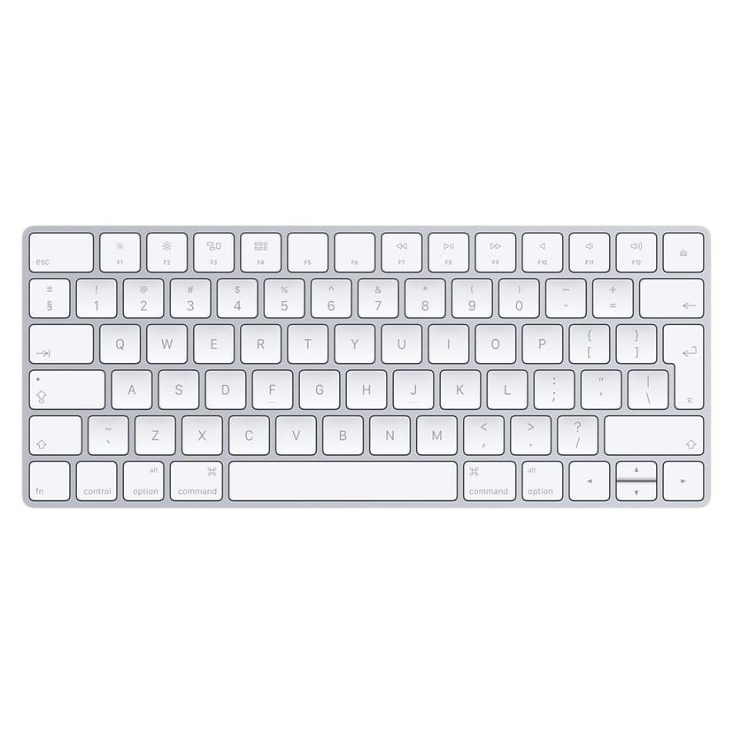 Apple Magic Keyboard Trådløs Tastatur Engelsk International Engelsk Hvid, Sølv