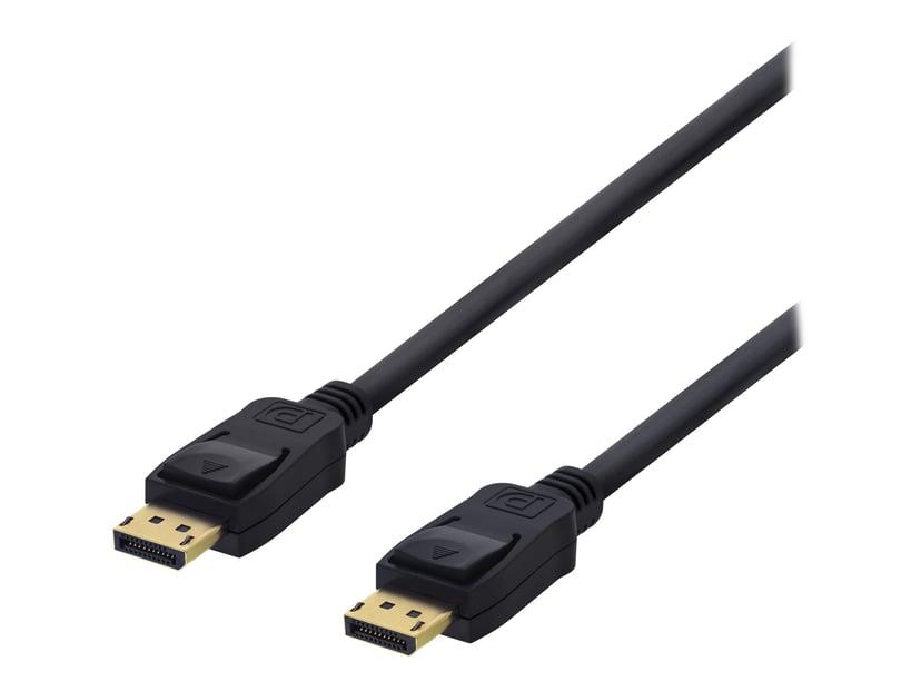 Deltaco Displayport - Displayport 10m 10m DisplayPort Hane DisplayPort Hane