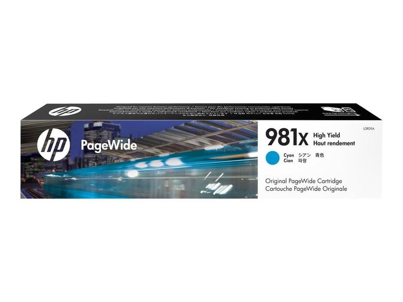HP Bläck Cyan 981X 10K - PW 556DN/556XH