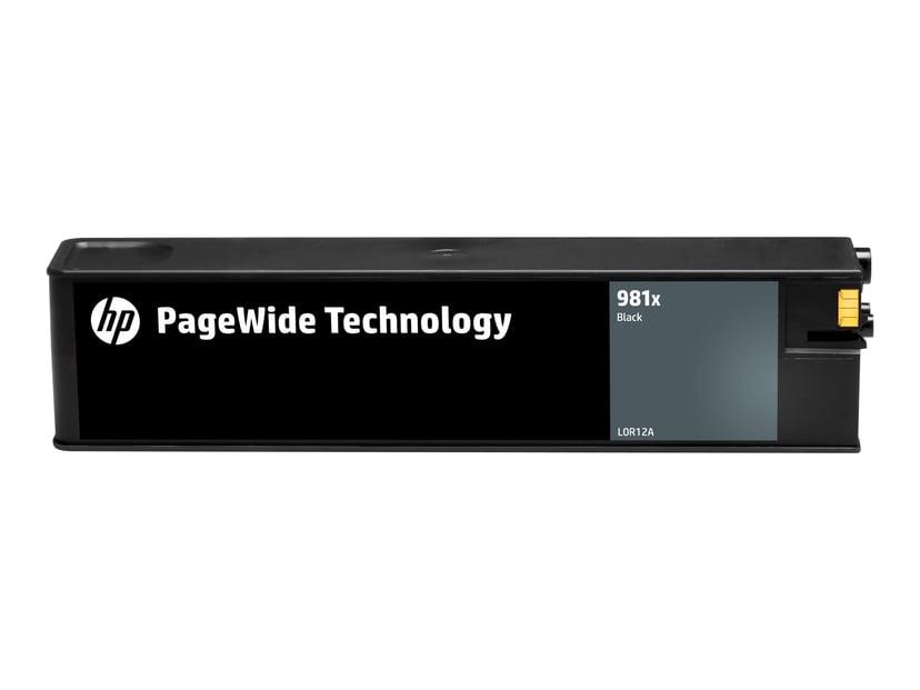HP Bläck Svart 981X 10K - PW 556DN/556XH