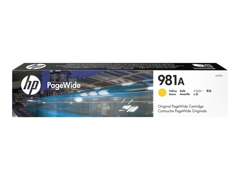 HP Muste Keltainen 981A 6K - PW 556DN/556XH