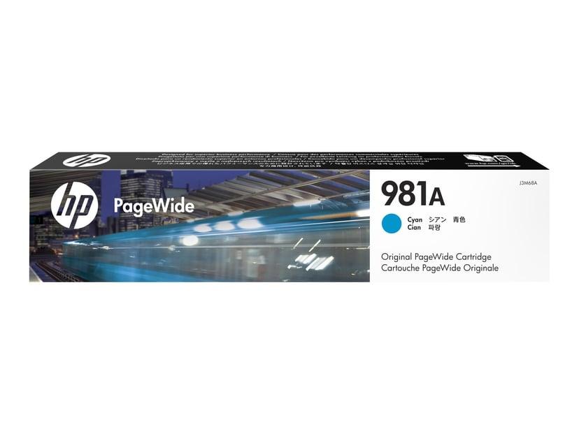 HP Bläck Cyan 981A 6K - PW 556DN/556XH