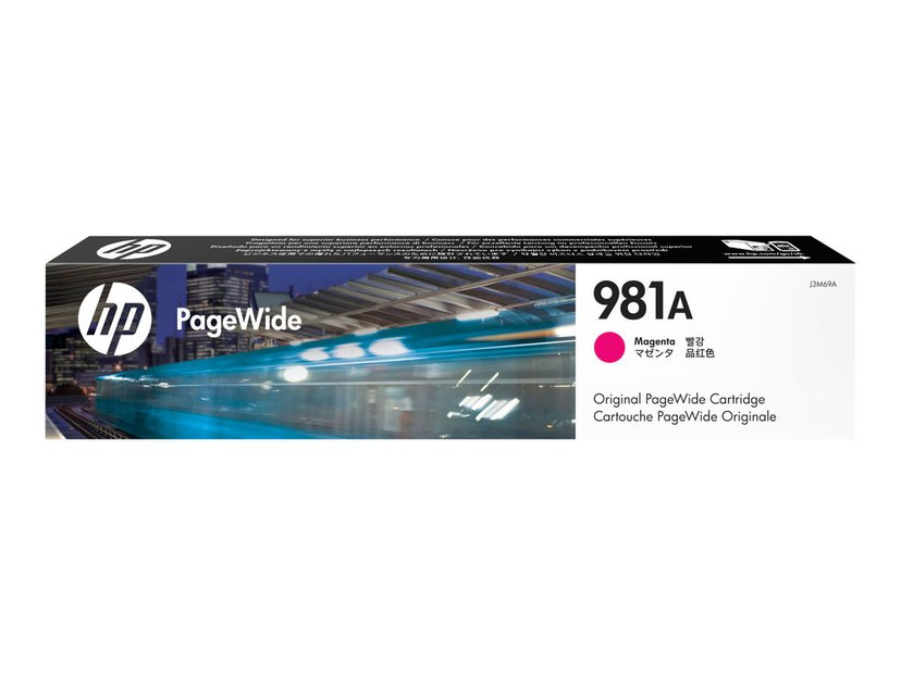 HP Blekk Cyan 981A 6K - PW 556DN/556XH