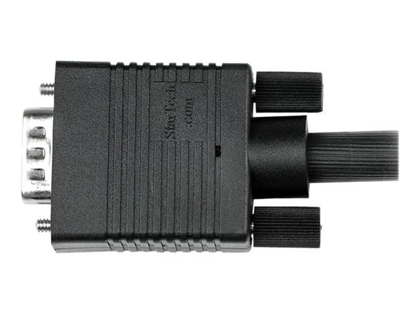 Startech 0.5m Coax High Resolution Monitor VGA Video Cable HD15 M/M 0.5m VGA Han VGA Han