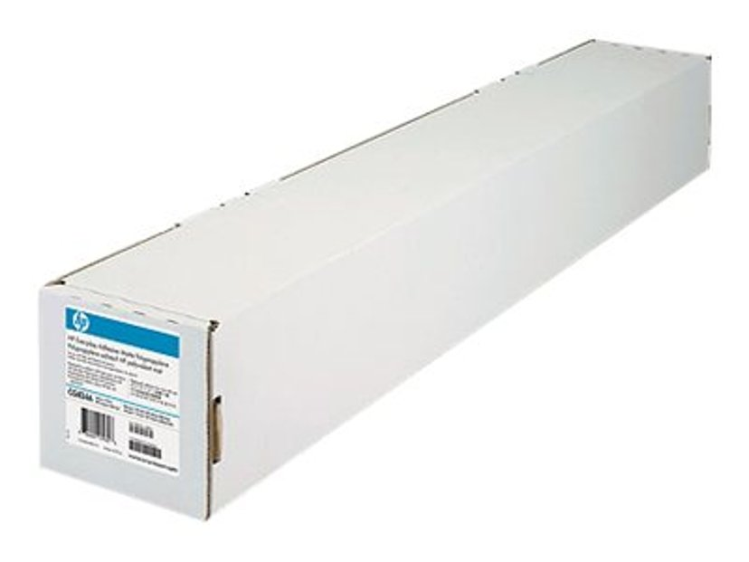 "HP Papir Everday Adhesive Matt Polypropylene 44"" Rulle 22.9m 120g"