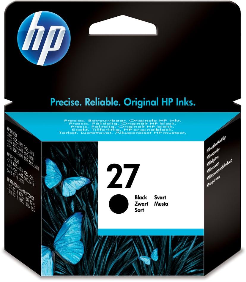 HP Blekk Svart No.27 - DJ 3320/3420