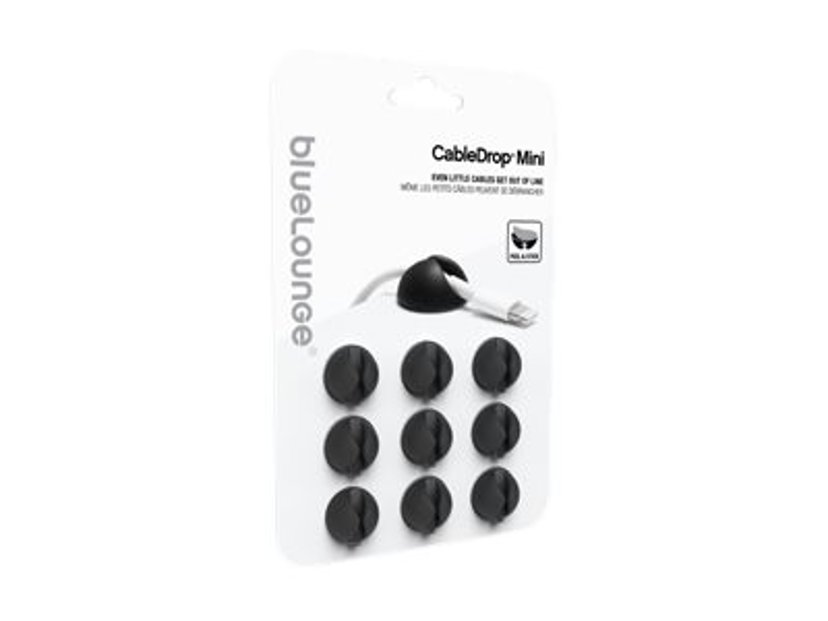 Bluelounge CableDrop Mini 9-Pack