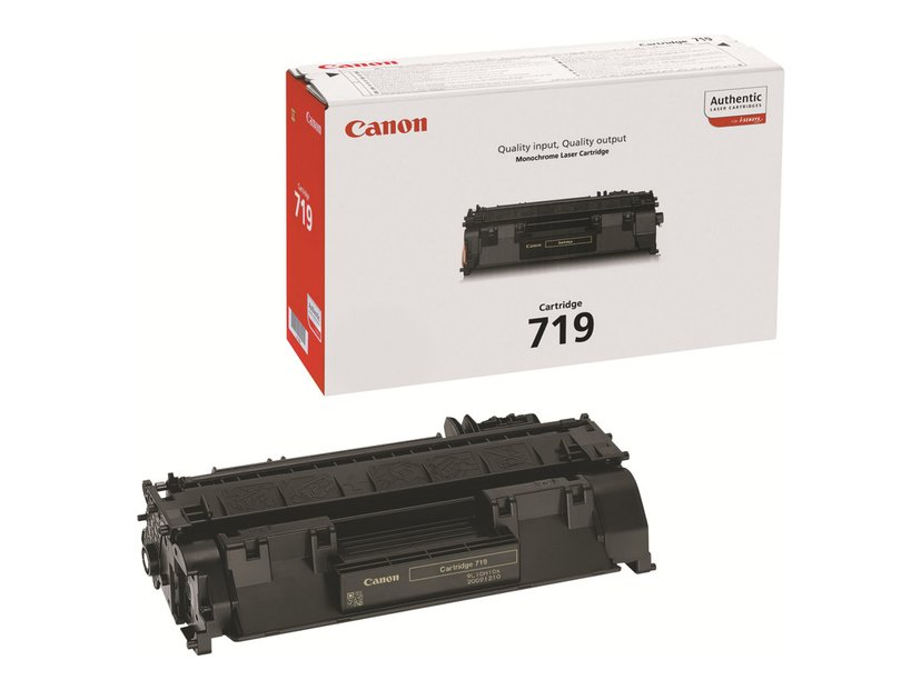 Canon Toner Svart 2,1k Type 719 - MF5840