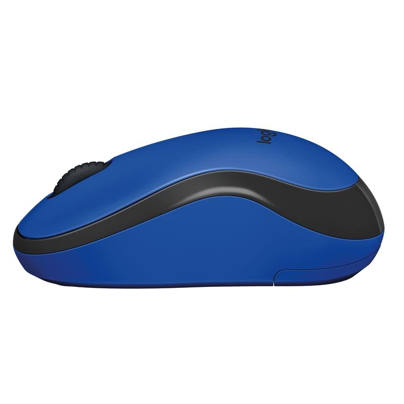 Logitech M220 Silent Wireless Blå, Svart Mus Trådlös 1,000dpi