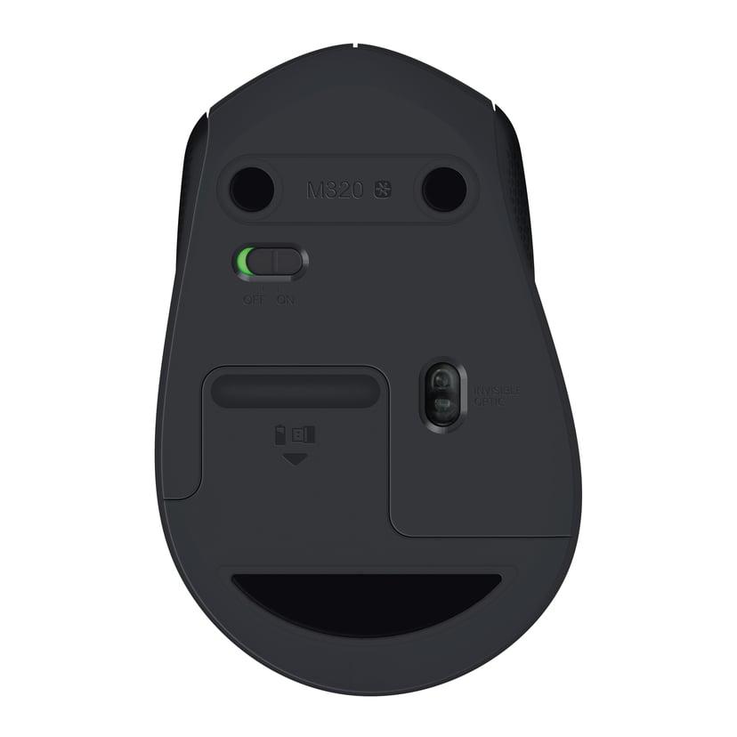 Logitech M330 SILENT PLUS Zwart Muis Draadloos 1,000dpi