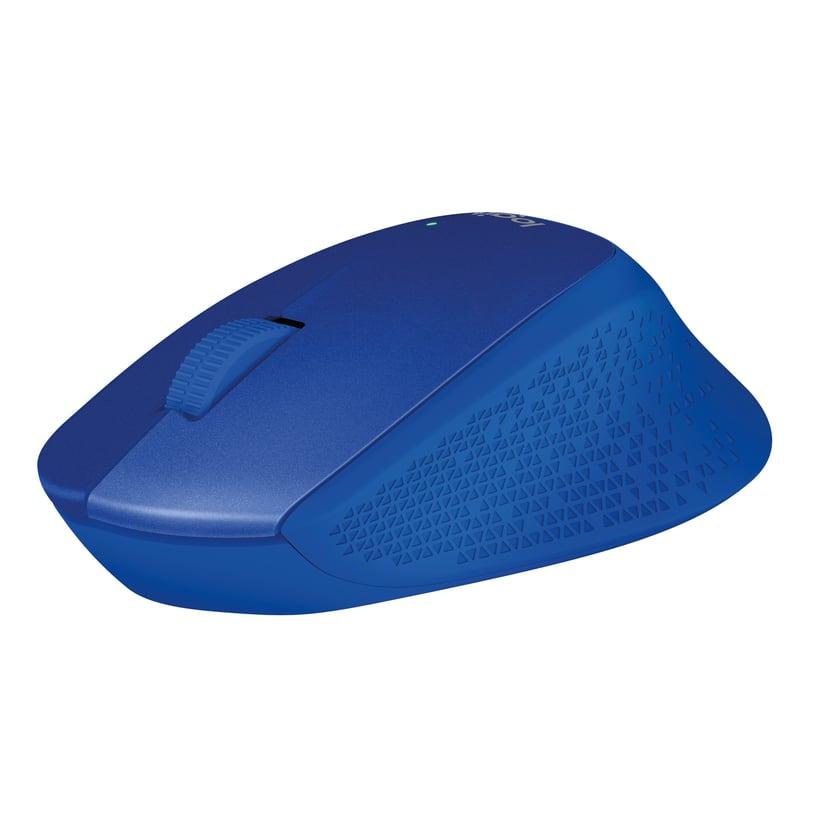 Logitech M330 Silent Wireless 1,000dpi Mus Trådløs Blå