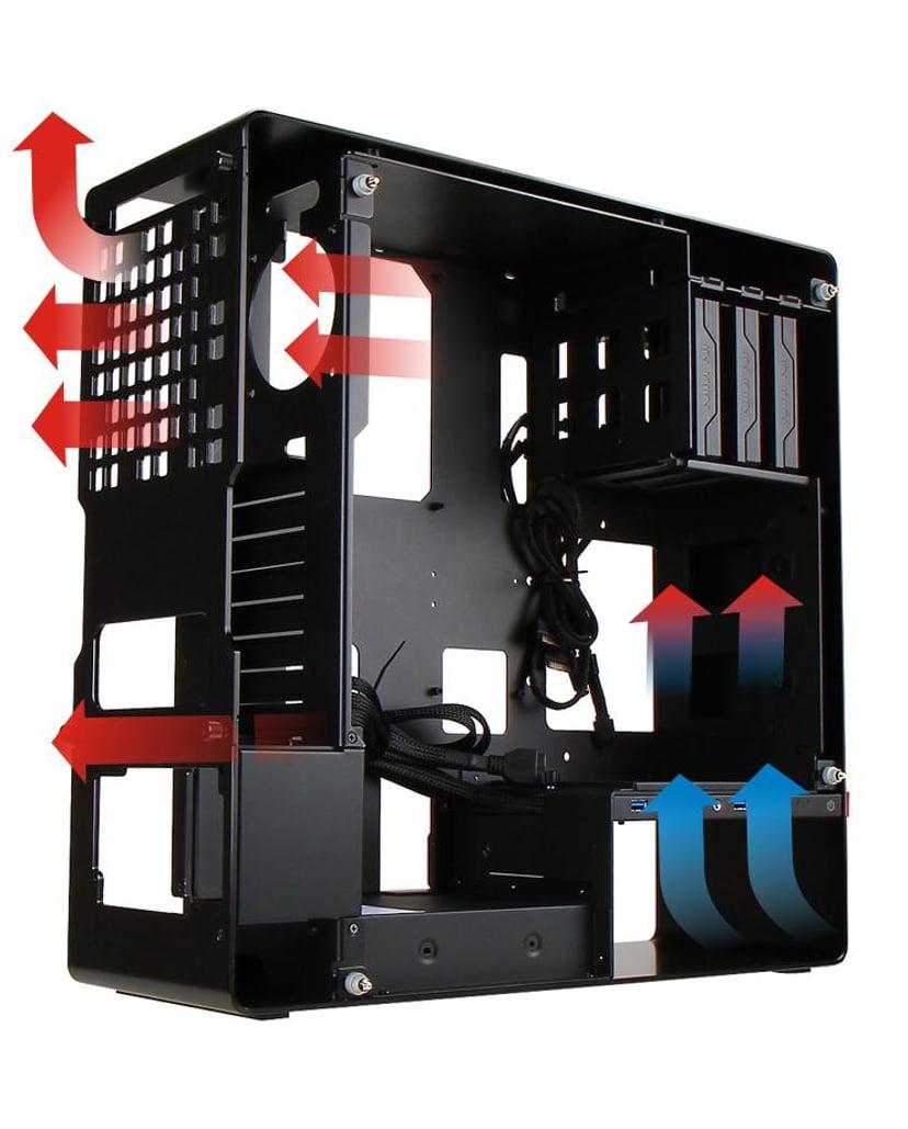 In Win 904 Plus Black - ATX Case