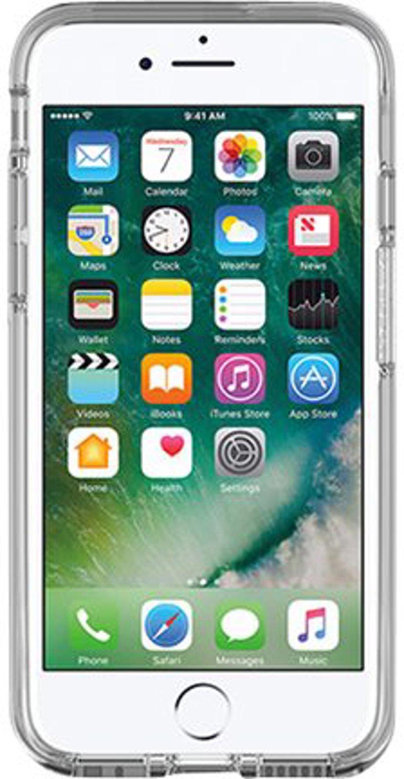 Otterbox Symmetry Series Apple iPhone 7 baksidedeksel for mobiltelefon Klar krystall
