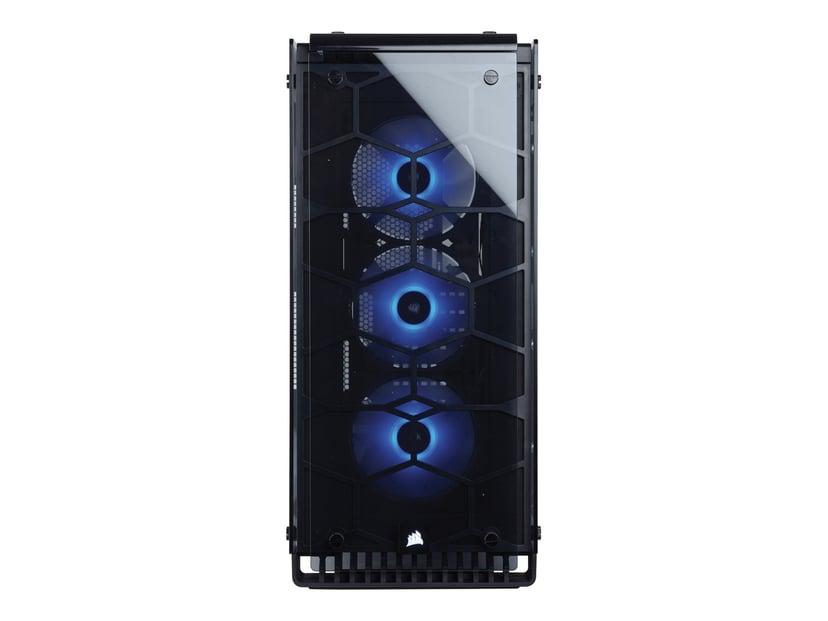 Corsair Crystal Serie 570X RGB Genomskinlig, Svart