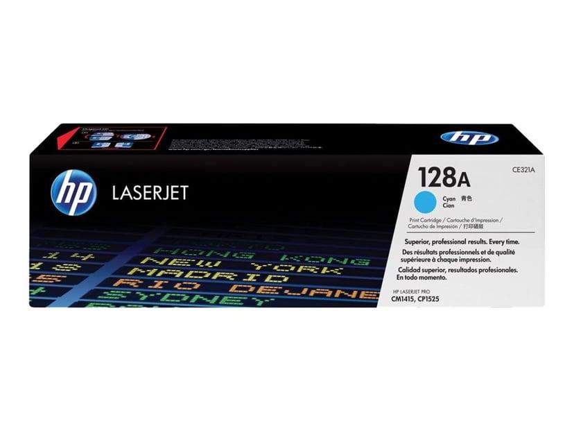 HP Toner Cyan 1.3K - CE321A
