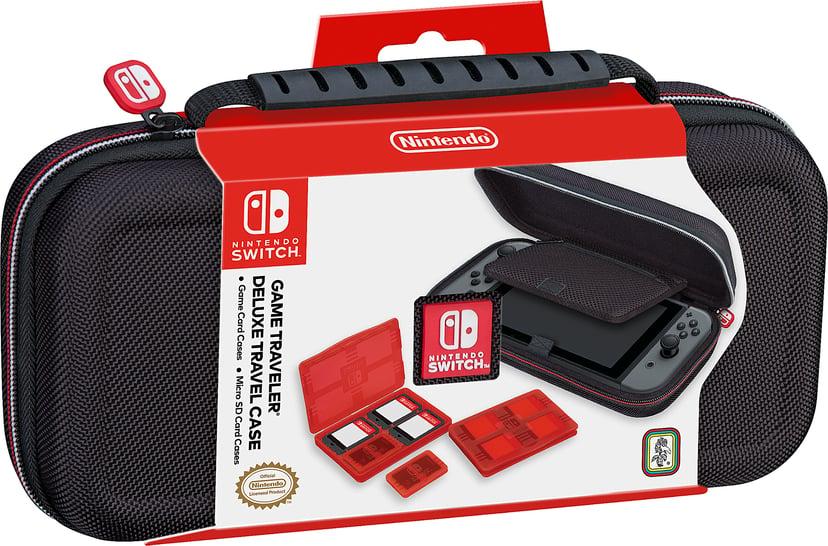 Nintendo Game Traveler Deluxe Travel Case Zwart