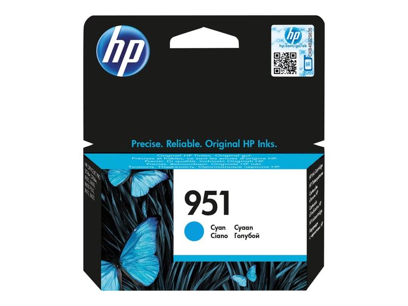 HP Bläck Cyan No.951 8ml - Oj 251Dw/276Dw