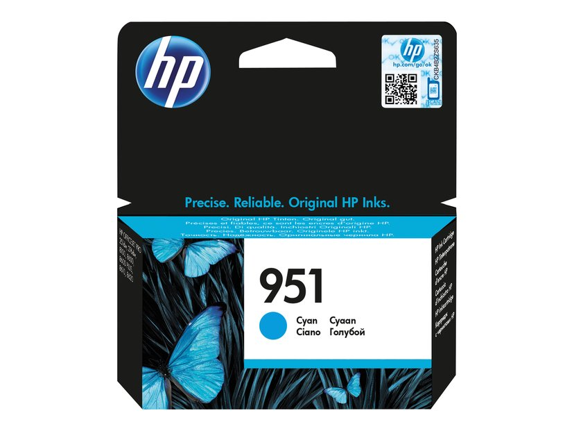 HP Blekk Cyan No.951 8ml - Oj 251Dw/276Dw