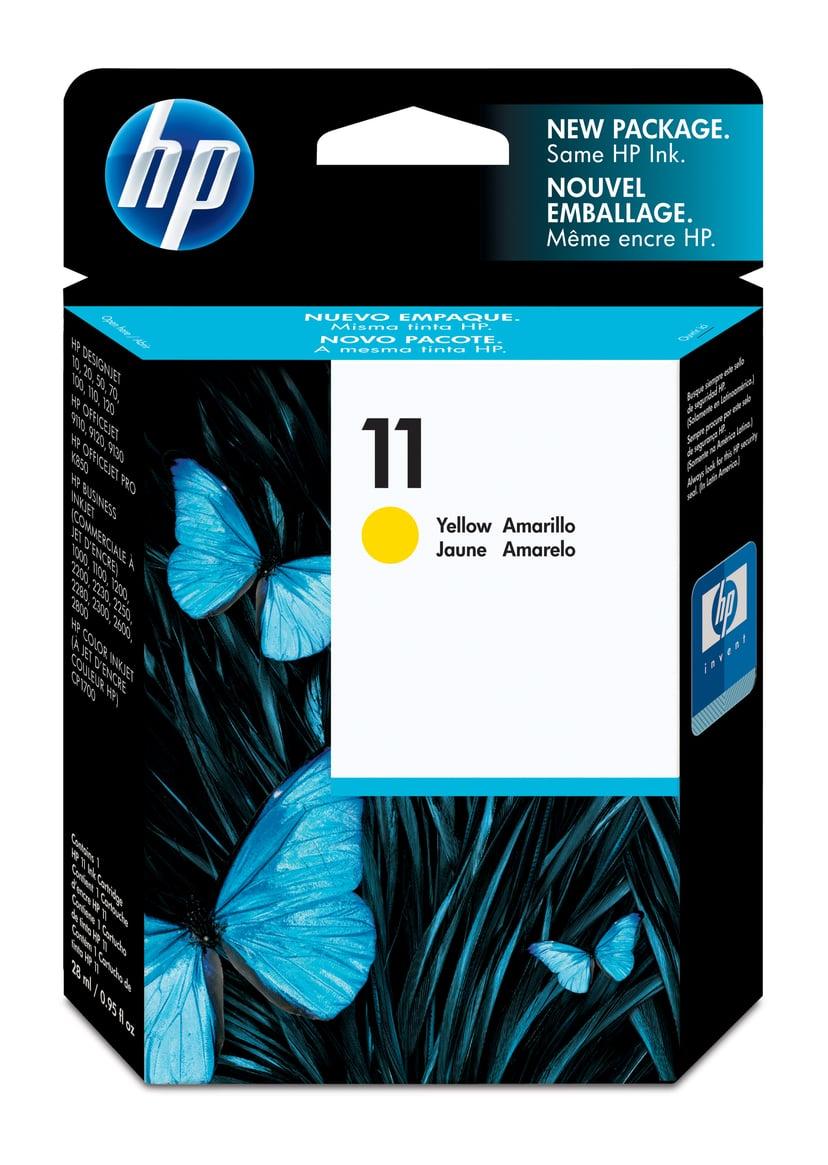 HP Muste Keltainen No.11 - BI2200/2600/CP1700