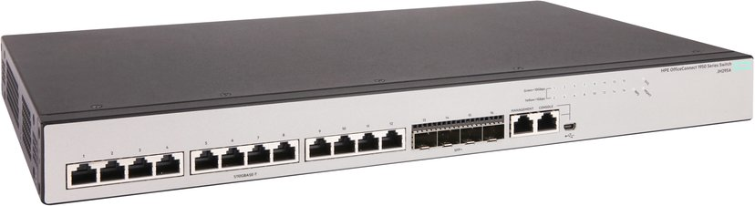 HPE OfficeConnect 1950 12xGbit, SFP+ Web-mgd Switch