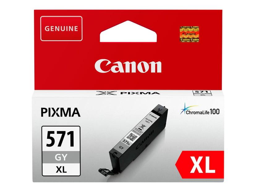 Canon Bläck Grå CLI-571GY XL
