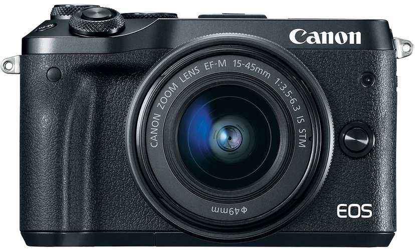 Canon EOS M6 + 15-45/3,5-6,3 IS STM