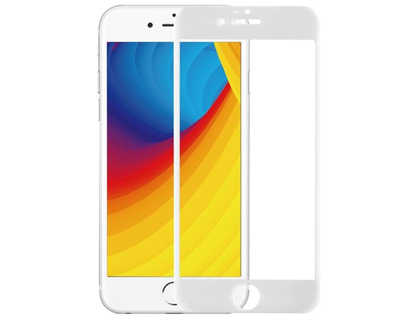 Cirafon 3D Curved Asahi Glass 0.23mm White iPhone 6/6s