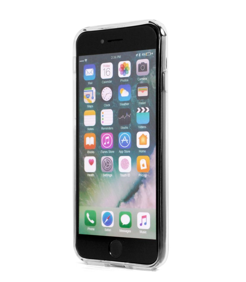 Cirafon Slim Case Thick iPhone 7; iPhone 8; iPhone SE (2020) Klar transparent