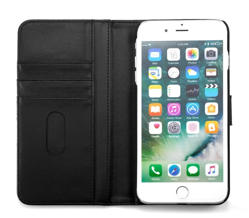 Cirafon Genuine Leather Wallet iPhone 7 Plus Svart