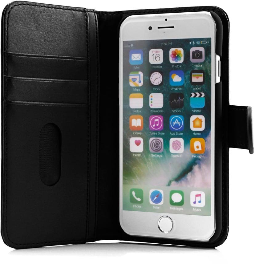 Cirafon Genuine Leather Wallet iPhone 6/6s; iPhone 7; iPhone 8; iPhone SE (2020) Svart