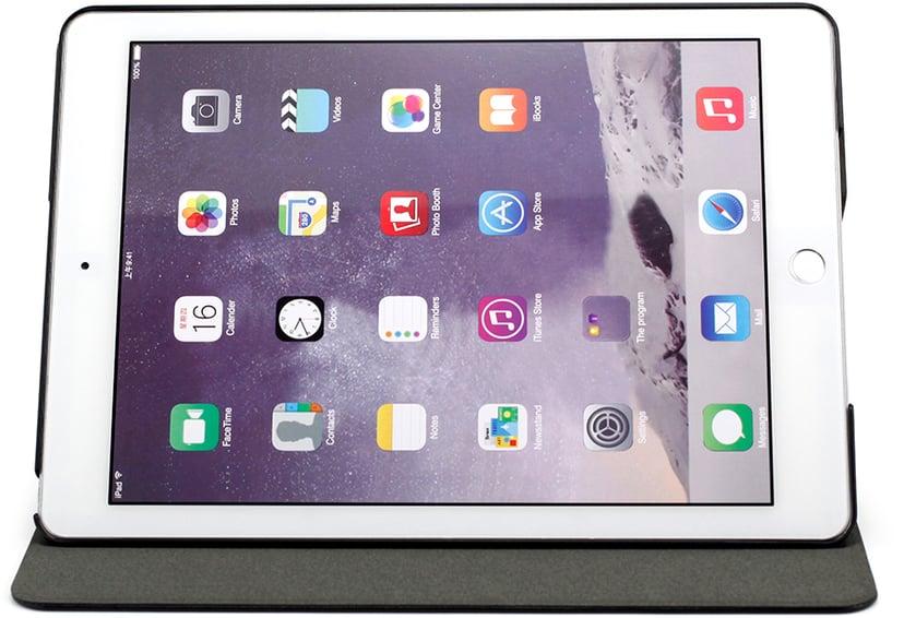 "Cirafon Folio Stand PU Leather Case iPad Pro 9.7"", iPad Air, iPad Air 2 Svart"