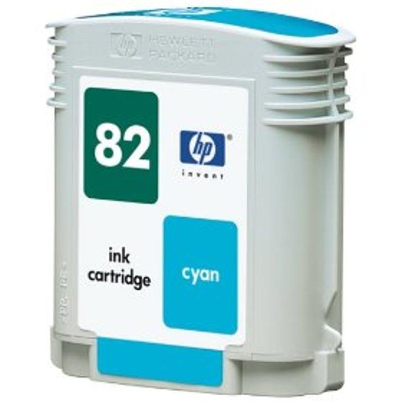 HP Blekk Cyan No.82 DNJ 500/800 69ml