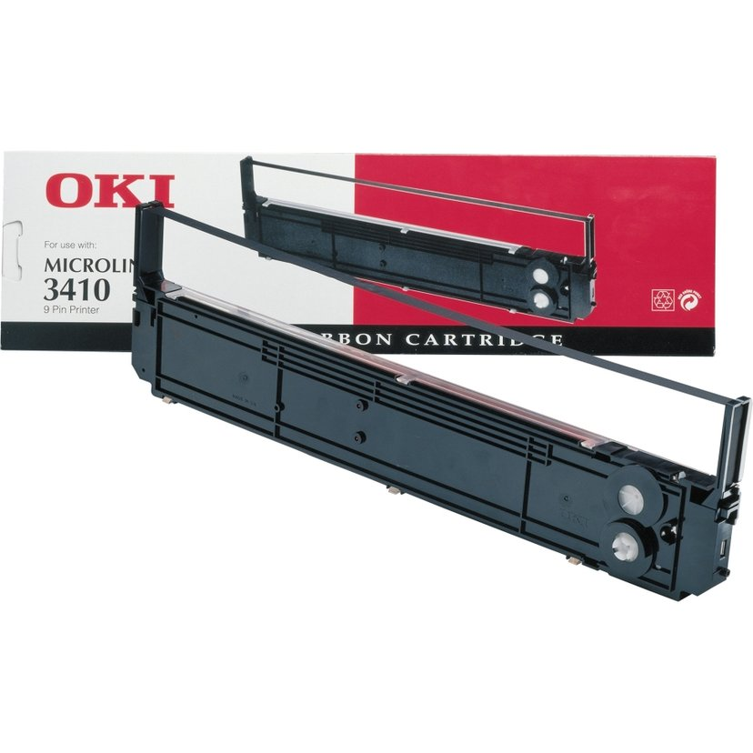 OKI Färgband Sort Microline 3410