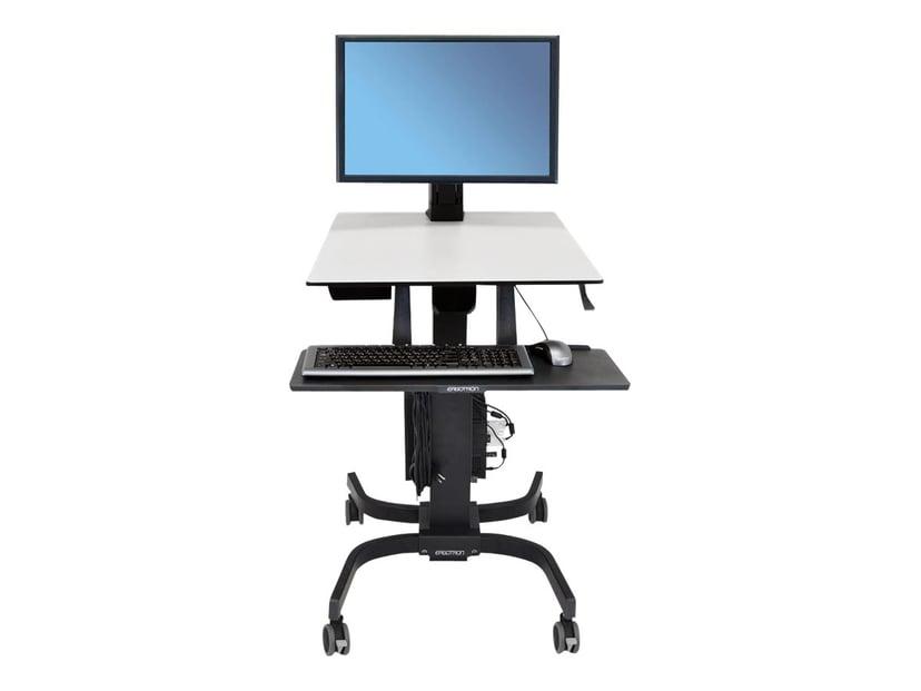 Ergotron WorkFit-C Single HD Sit-Stand Workstation