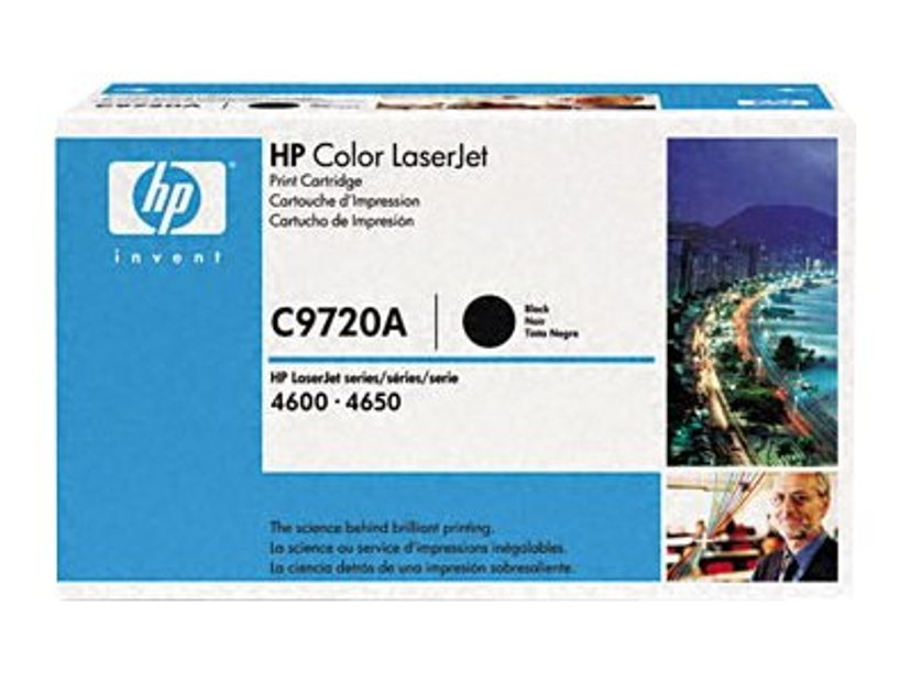 HP Toner Sort - CLJ 4600/4650
