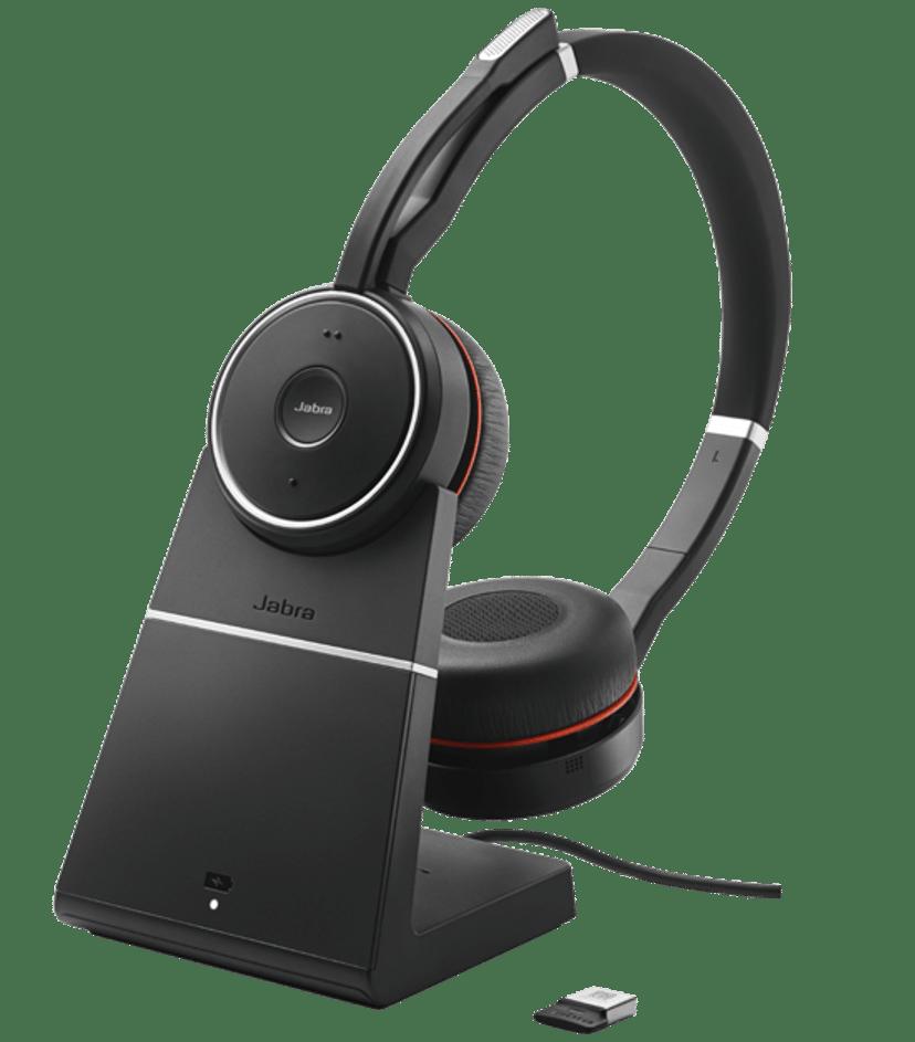 Jabra Evolve 75 Stereo UC inkl. Laddningsställ