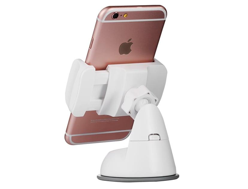 "Cirafon Universal Smartphone Car Holder 4""-5.5"" White"