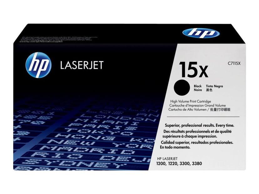 HP Värikasetti Musta 3.5K - C7115X
