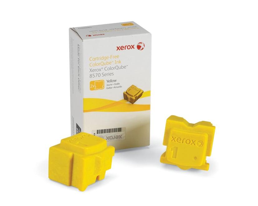 Xerox Blekk SOLID 2X Gul 2,2K - CQ 8570