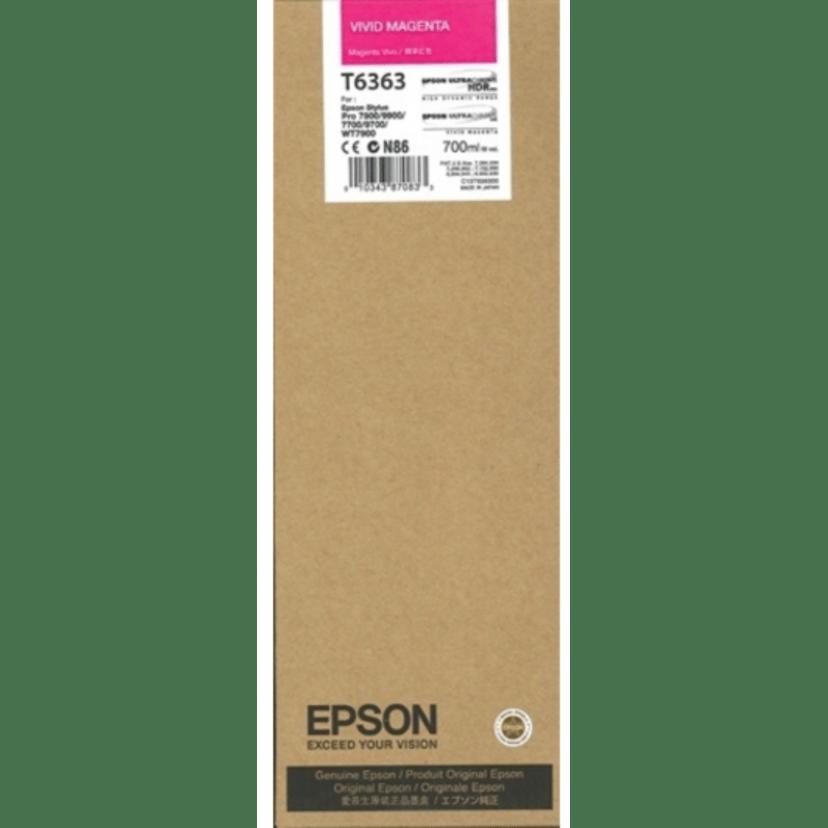 Epson Bläck Vivid Magenta Ultrachrome HDR - PRO 7900