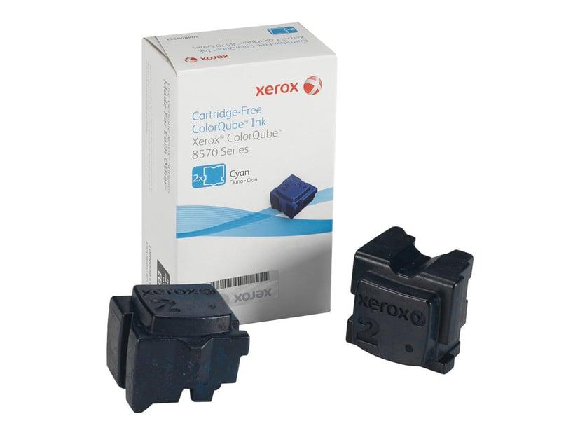 Xerox Bläck SOLID 2X Cyan 2,2K - CQ 8570