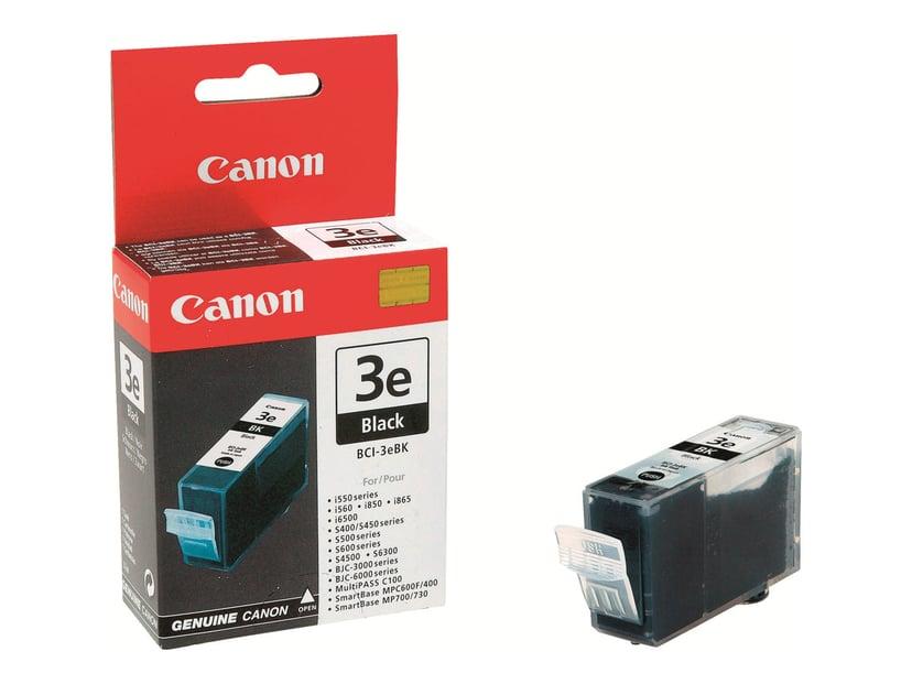 Canon Blekk Svart BCI-3EBK BJC 3000/6000/I550/S400