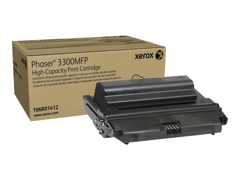 Xerox Toner Svart 8k - Phaser 3300