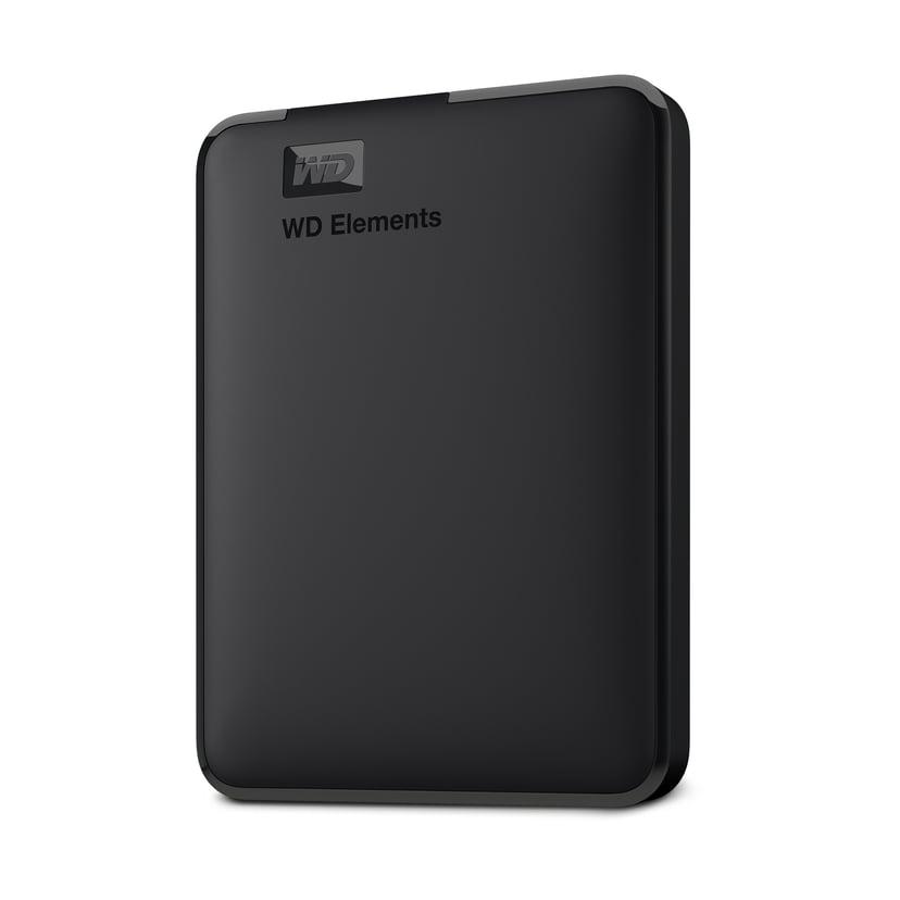 WD Elements Portable 4TB Svart