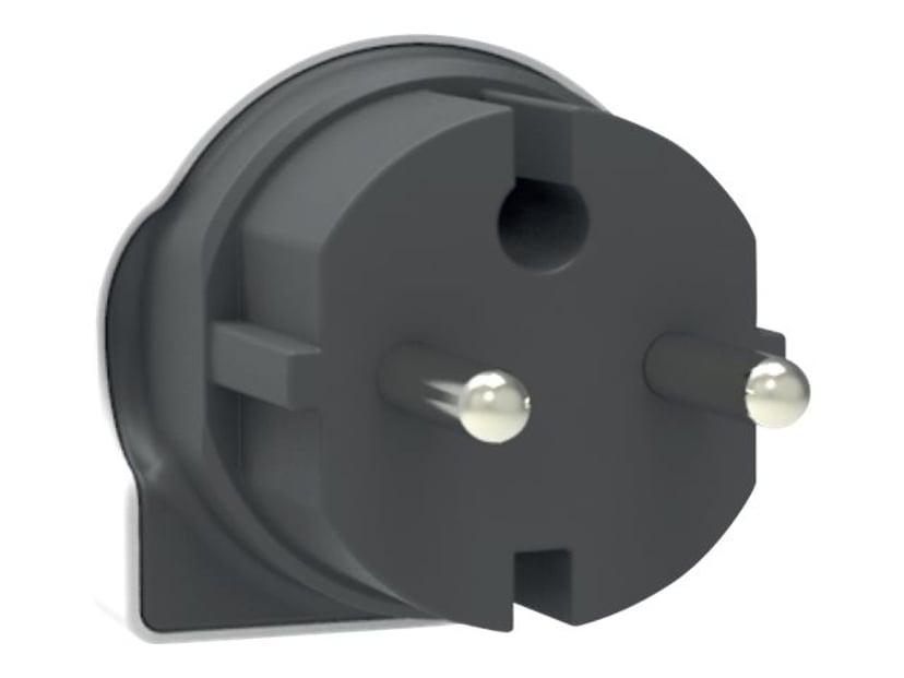 Q2power Laddare Dual USB 2.4A EU Vit/Svart