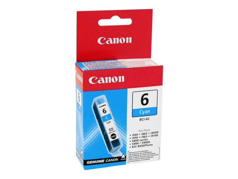 Canon Inkt Cyaan BCI-6C S800/S820D/S900/I990