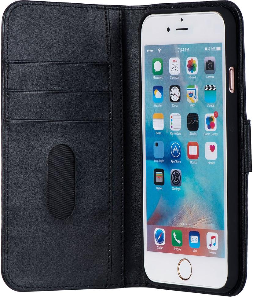 Cirafon PU Leather Wallet iPhone 6, iPhone 6/6s Svart