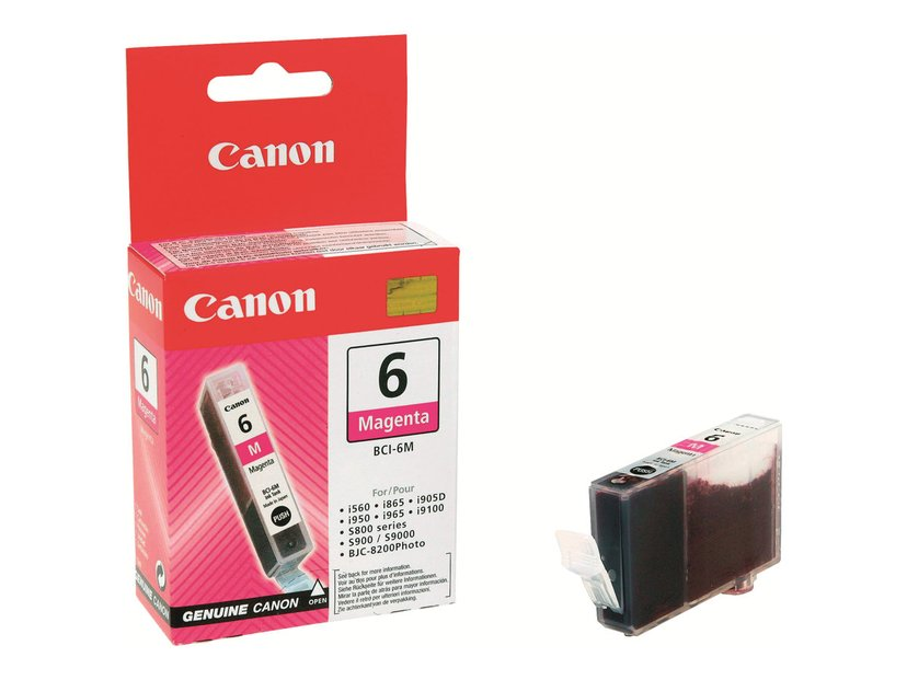 Canon Blekk Magenta BCI-6M - S800/S820D/S900/I990